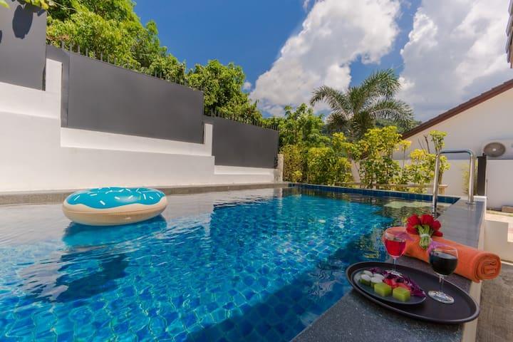 Star Private Pool villa 2 bedrooms Tropical Living