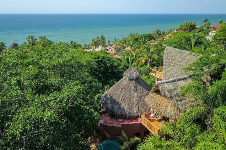 Views!  Steps to beach, Villa Calabaza 2 suites