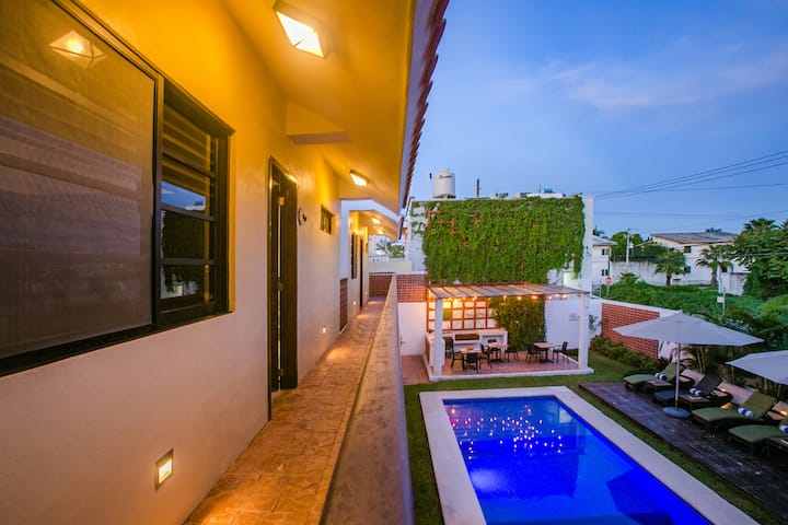 Villa Yaax Ki  a beautiful place to enjoy the Caribbean