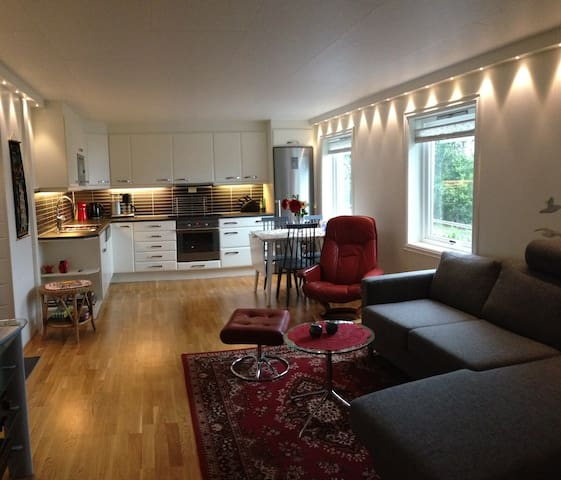 Vangsnes - charming apartment with Fjord view