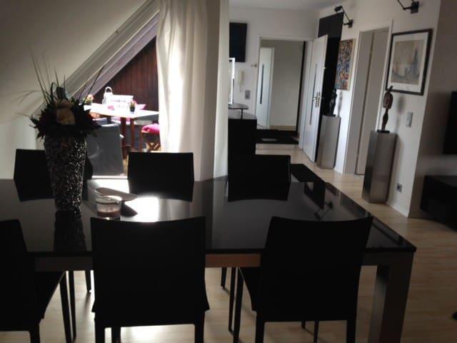 Moderne 2,5 DG-Zi-Wohnung im Herzen von Ulm - Ulm - Appartement