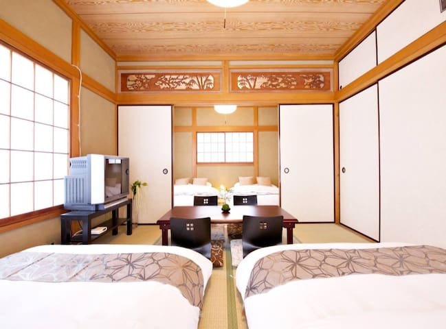 Spacious at Kamakura Beach/4Bd room for 16PAX!