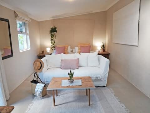Tranquil garden studio