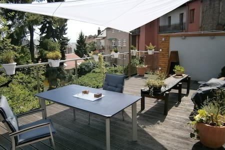 podkrovní byt se slunnou terasou a výhledem