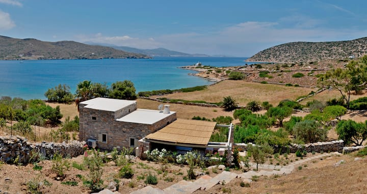 "Amorgos The Olive Garden ""by the sea"""
