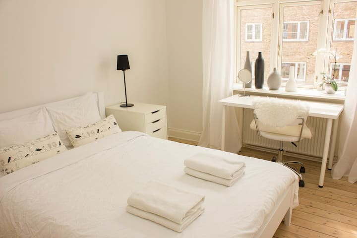 Cozy room near center/beach/airport - København - Flat