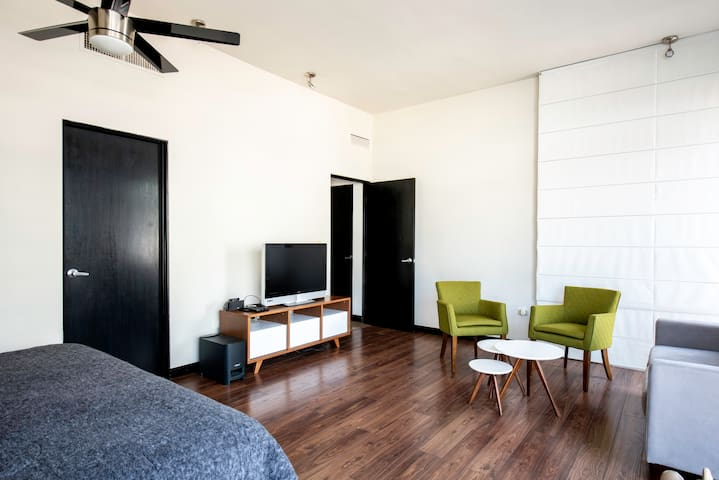Spacious and welcoming main bedroom
