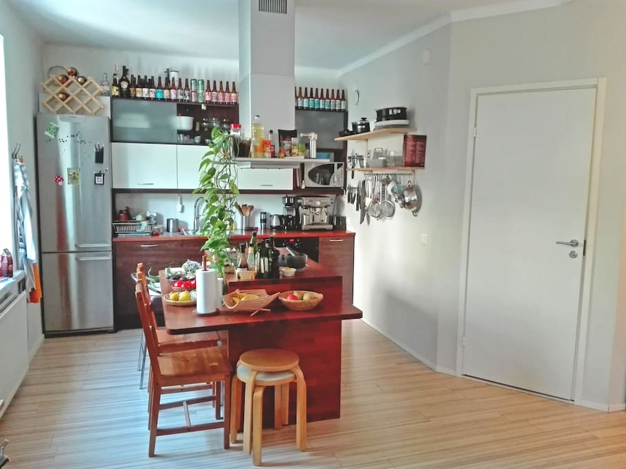 Kitchen, the heart of the home :)