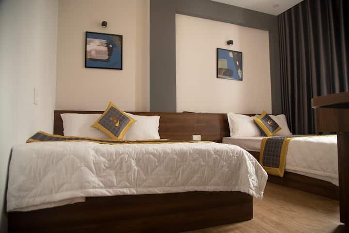 Khách sạn Phú Yên - BaKa Hotel phòng 4 người 204