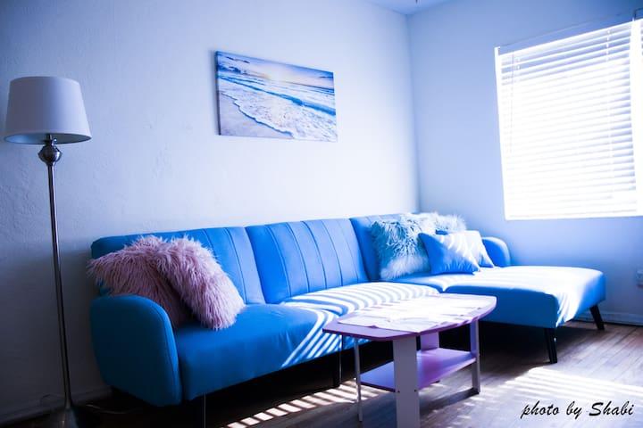 ❤️Entire apartment, beach, long term available❤️#7