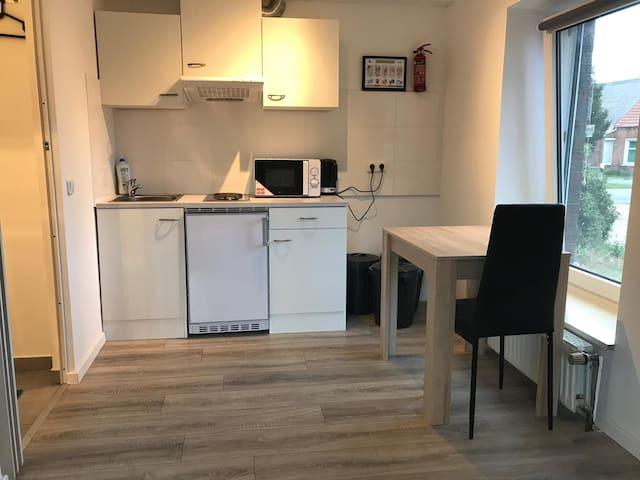Einzelwohnung für Monteur
