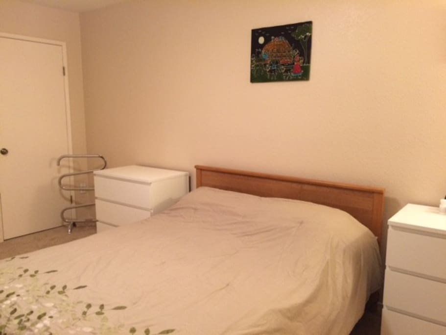 Upstairs in law unit with full kitchen and bath houses for Master bedroom for rent san jose