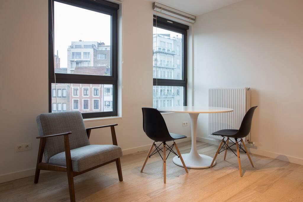 Rubens studio antwerp appartementen te huur in antwerpen for Studio antwerpen te huur