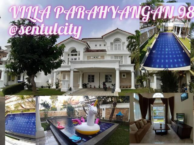 Villa Parahyangan 98 & Private Pool @Sentul_City