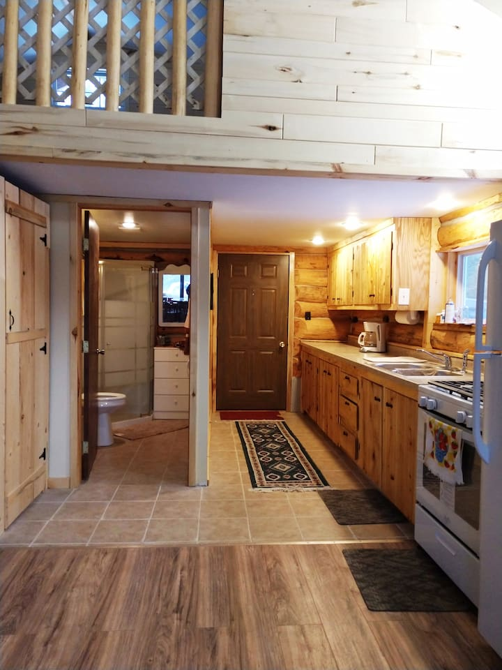 Entry Way to a Beautiful Gateway into a log home waiting for you.