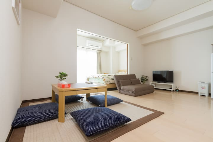 New Open with free Wifi☆ Near Nipponbashi station☆ - Ōsaka-shi - Apartmen