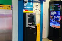 "Amenities at Kembangan Mrt Station : #4 ""POSB""/ ""DBS"" ATM to withdraw cash."