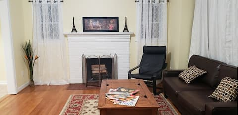 Home 3 BR 4Beds near DC Metro with Free Parking