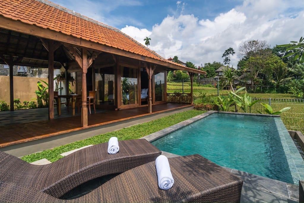 wiswarani villas 1 villen zur miete in ubud bali. Black Bedroom Furniture Sets. Home Design Ideas