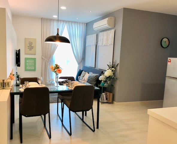 《心•窝》HeartSpring 2BedRooms 2carpark @ Georgetown