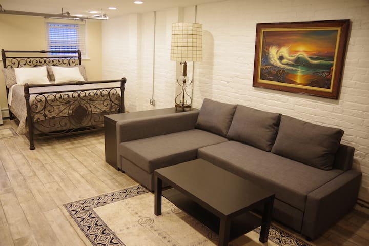 Cosy Studio 10 mins to Times Square - Hoboken - Appartement