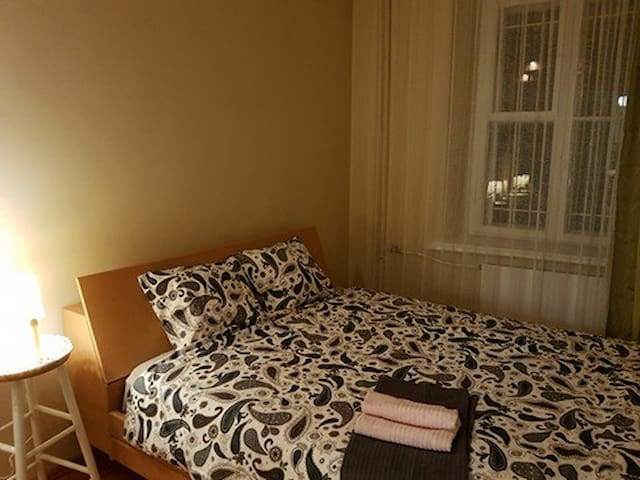 Double private room in rooms apartment Old Town/D