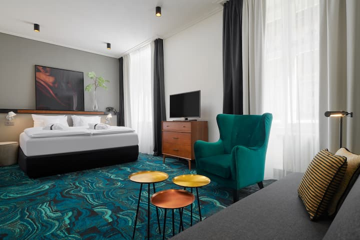 Executive room in heart of Prague / 5*Hotel