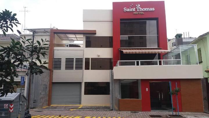 HOTEL SAINT THOMAS SU CASA EN QUITO