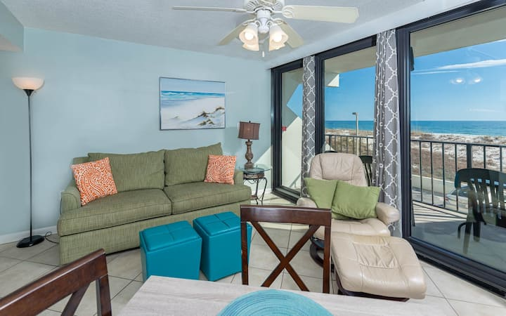 Gulf Front 1 Bedroom - Island Winds East 104