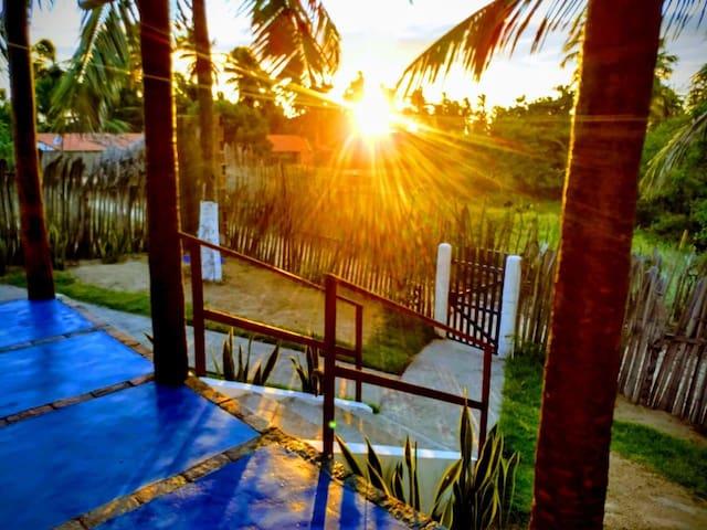 Casa para descanso e férias na Praia da Baleia
