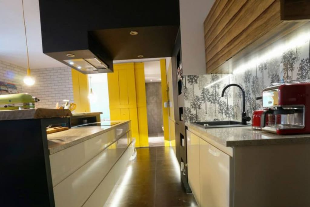 Fully equipped kitchen. Perfect for entertainment