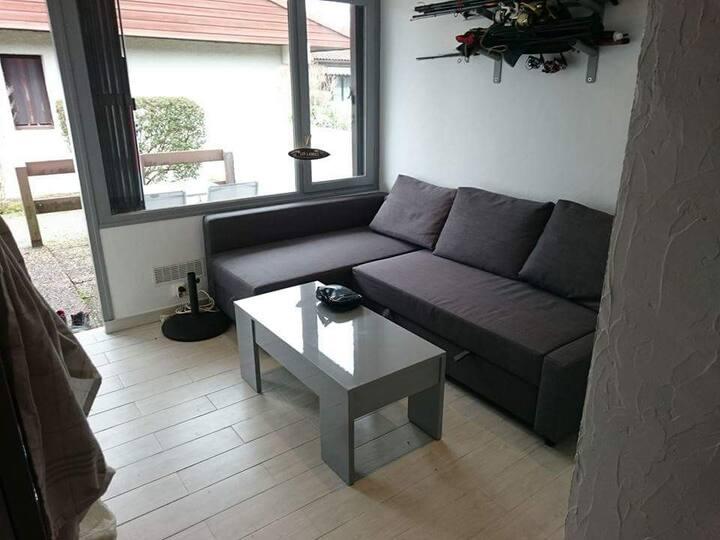 Location studio à lit et mixe (Landes)