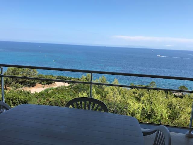 Appartement 80m2 vue mer Cap Corse