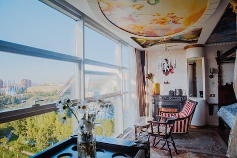 Gorgeous heaven/Роскошные видовые апартаменты