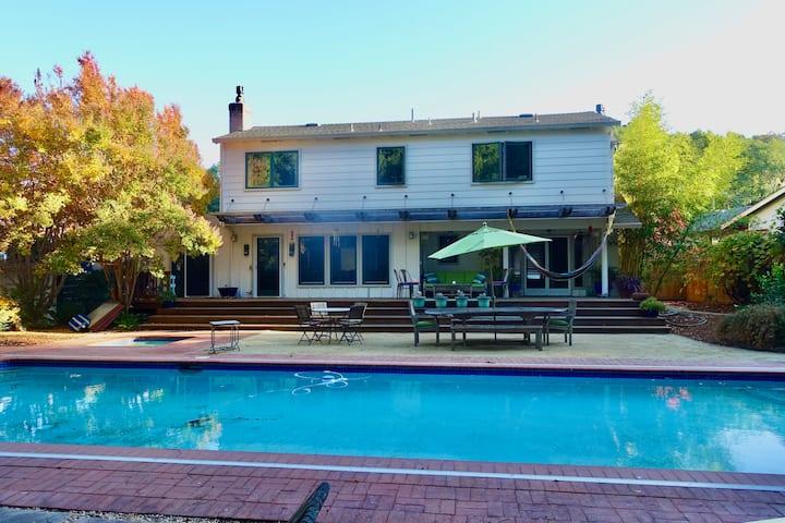 Novato Zen Home: Pool, Hot Tub, Sauna