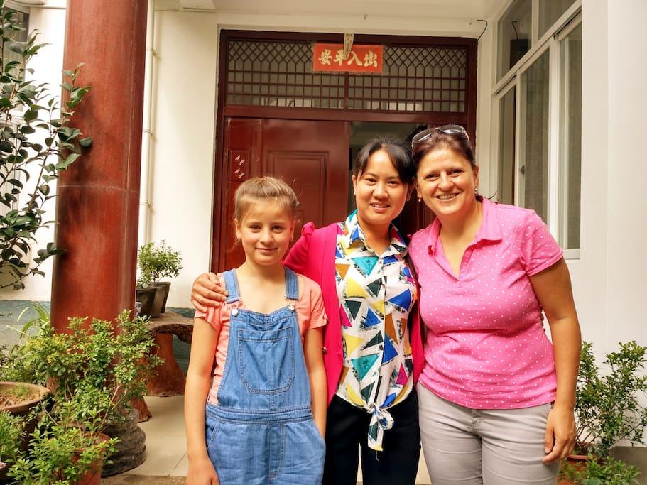 入住成宫的客户大多数是家庭旅行,也有小团体和朋友派对等。Mainly clients in Aprt. Cheng Gong were family, small team outing or party.