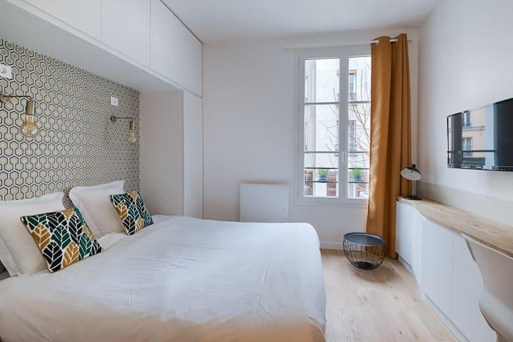 Charmant studio à proximité de Nation - París - Pis