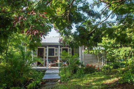 Charming Cottage in  Caribbean Woodlands
