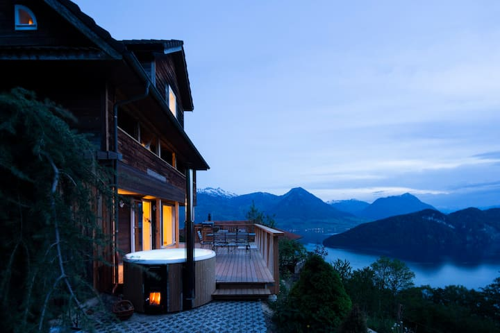 House Schwande at Lake Lucerne