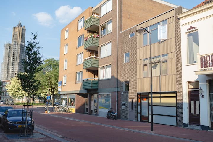 #RijnApartments CityHouse 2/3floor max 21 beds