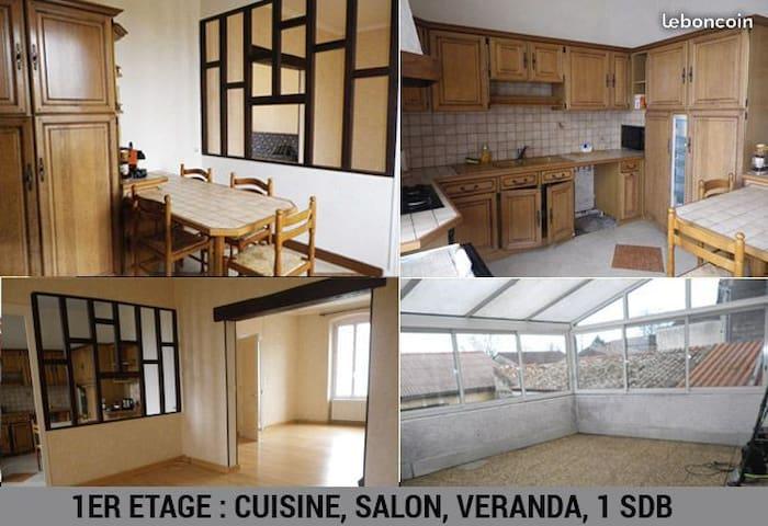 Appartement T4 proche d'Angouleme  famille / coloc
