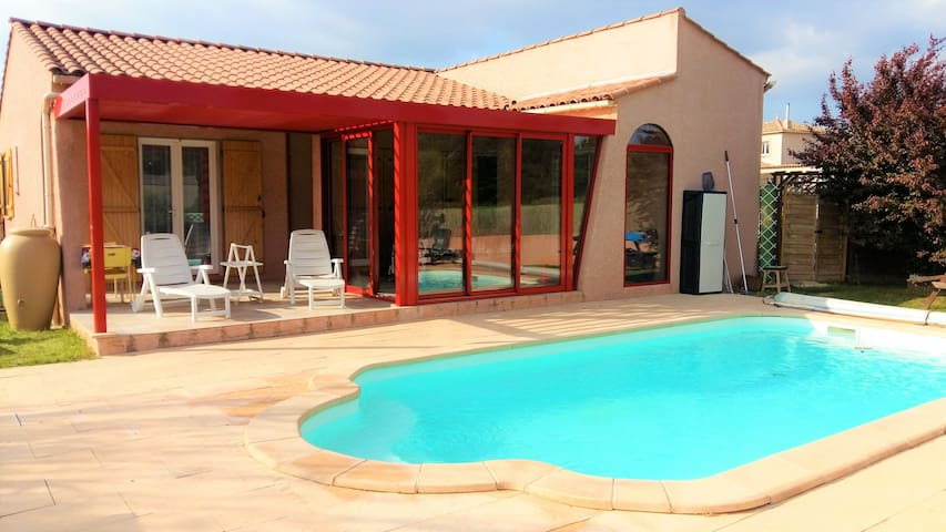 House with private heated pool - Rustiques - House