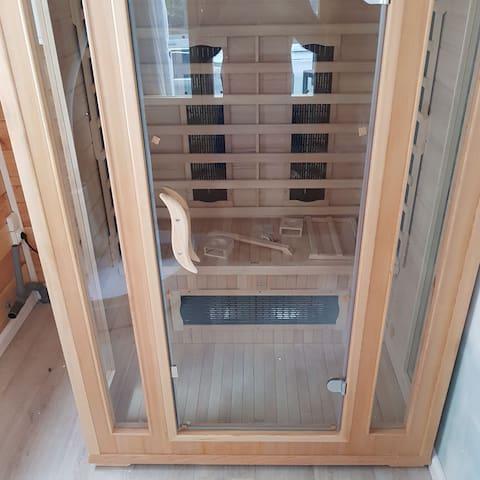 Chalet avec sauna et hammam à 200 mètres de Paris