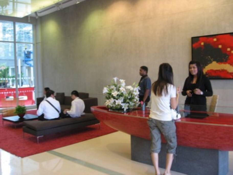 Ground floor reception.
