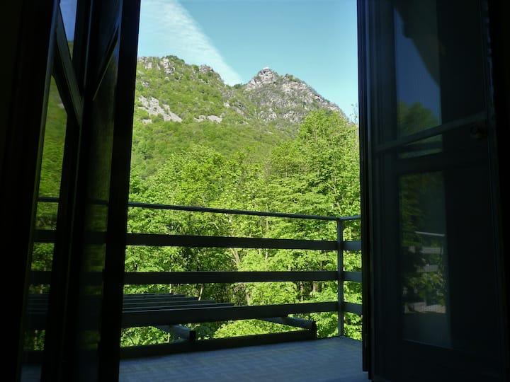 Excellent appartement dans les montagnes.