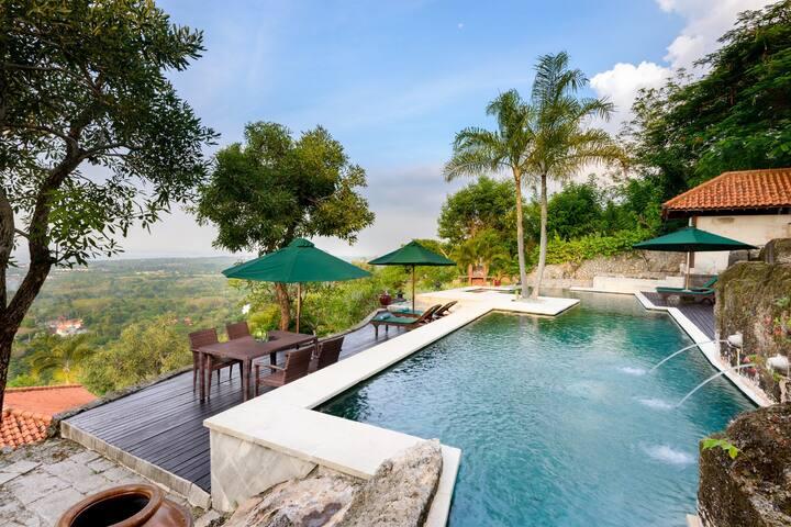 JP Panoramic View 2BR Pool Villa Uluwatu - Denpasar - Villa