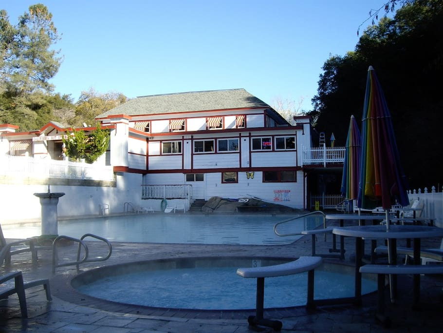 Nearby California Hot Springs Resort