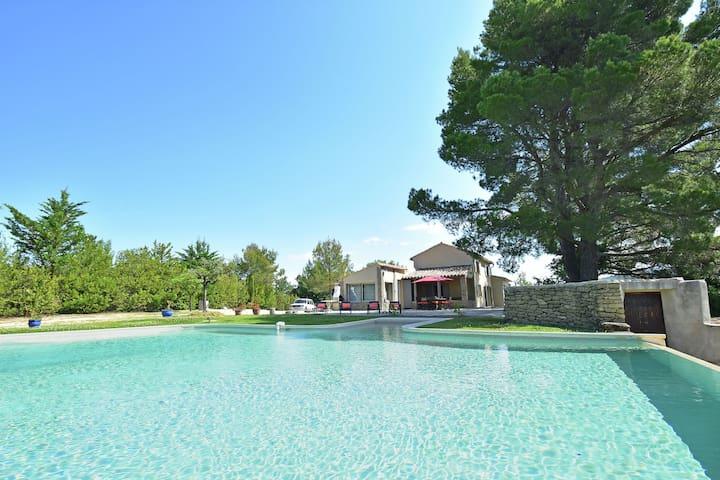 Eigener Infinity-Pool, wunderschöne Aussicht auf den Mont Ventoux, ein Traumort!