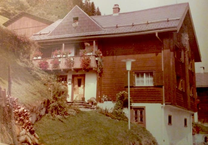 Historic house in an alpine farming village - Andiast