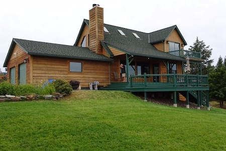 Montana Homeplace-40 acre estate w/mountain views - Rexford - Maison
